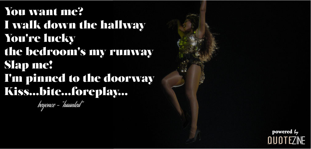 beyonce quotes about boys - photo #14