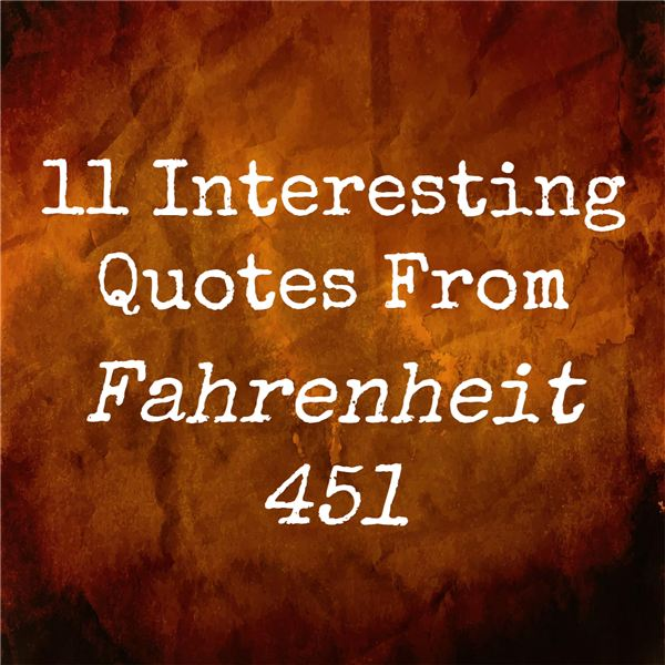 Fahrenheit 451 Old Woman Quote
