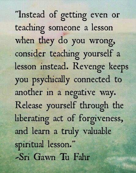 Essay about forgiveness and letting go