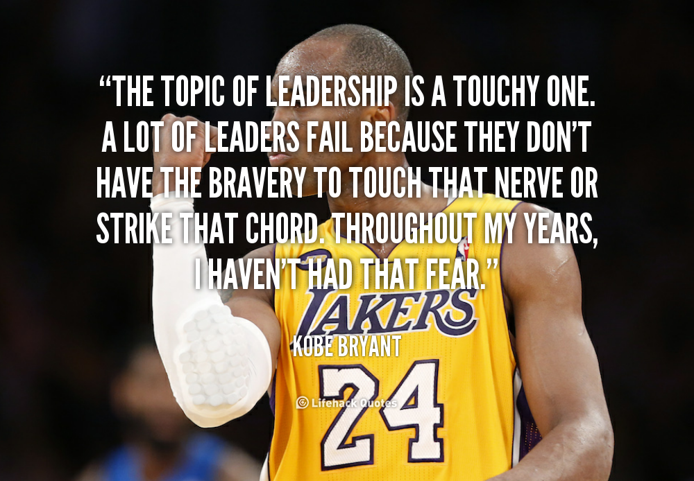 kobe bryant leadership composition topics