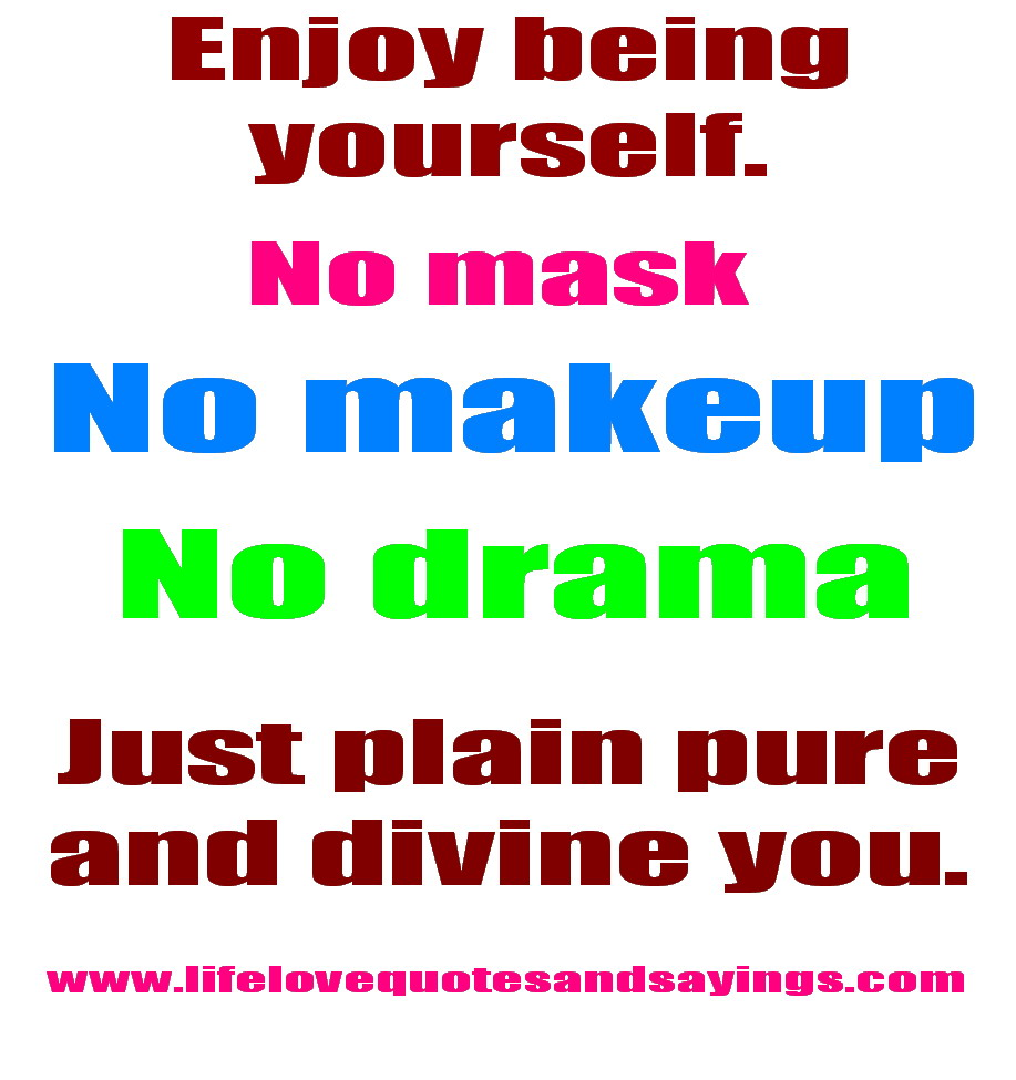 No Makeup Quotes. QuotesGram