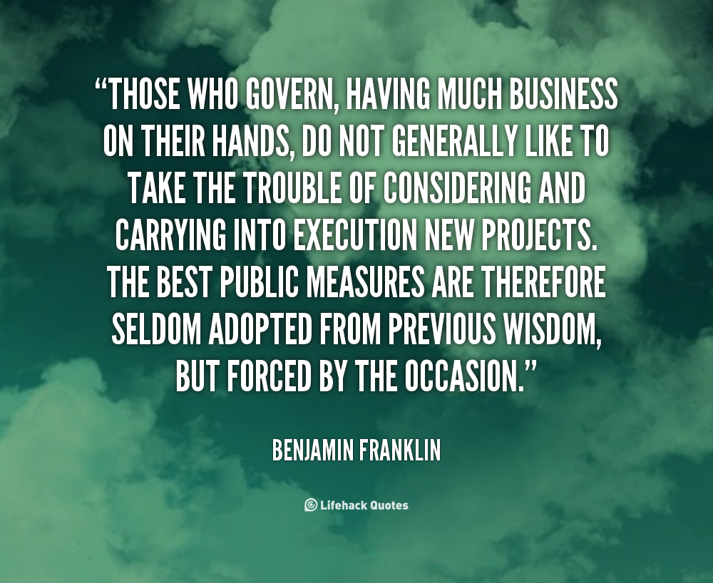 Ben Franklin New Years Quote: Benjamin Franklin Quotes Business. QuotesGram