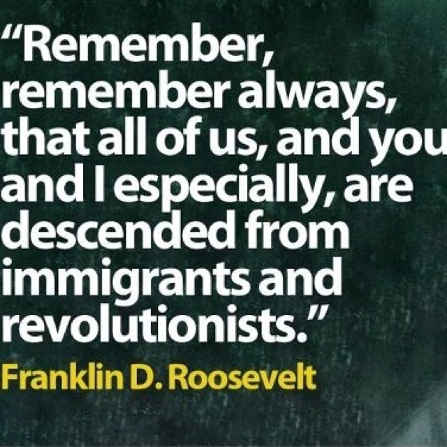 roosevelt immigration and tru americanism What is true of patriotism and reform is true also of americanism there are plenty of scoundrels always ready to try to belittle reform movements or to bolster up existing iniquities in the name of true americanism by theodore roosevelt.