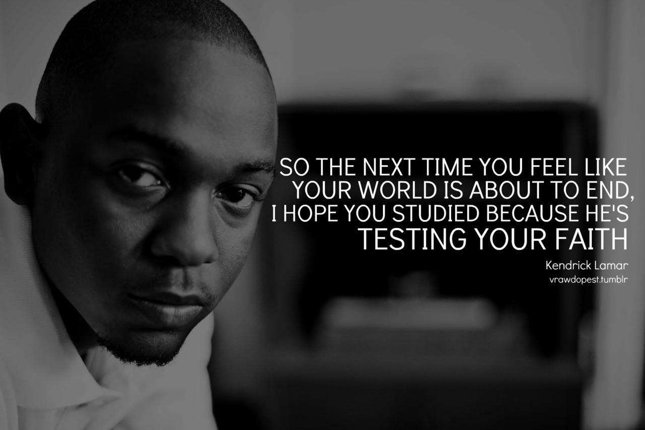 Kendrick Lamar Lyric Quotes. QuotesGram
