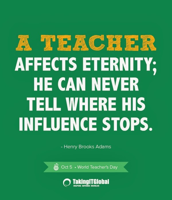 teacher affects eternity essay Get custom essay sample written according to your requirements urgent 3h  a  teacher affects eternity, he can never tell where his influence stops more and.