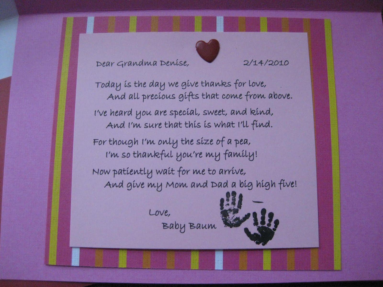 Открытка о беременности бабушке, красивыми словами для