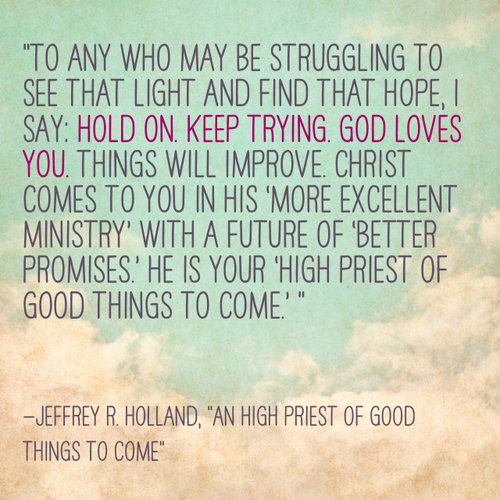 Elder Holland Good Things To Come Quote: Jeffrey Holland Quotes Christmas. QuotesGram