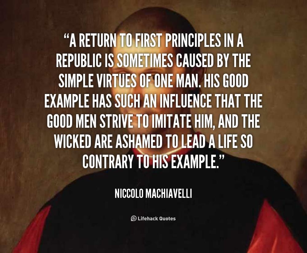 Machiavellian Principles Applied to the Bolshevik Revolution