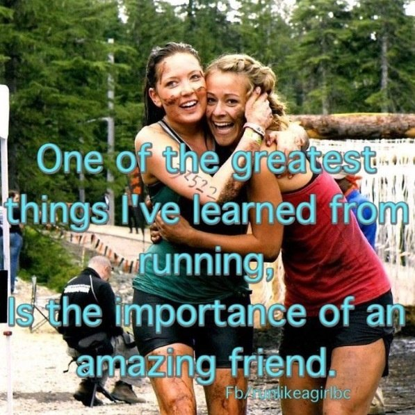 running buddy quotes  quotesgram