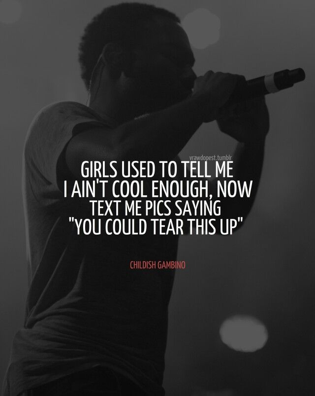 Childish Gambino Quotes. QuotesGram