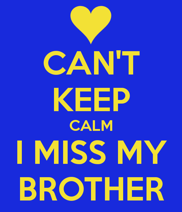 Heaven Quotes Missing My Little Brother. QuotesGram