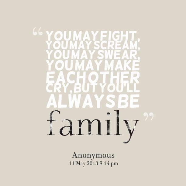 Quotes About Fighting: Family Fighting Quotes. QuotesGram