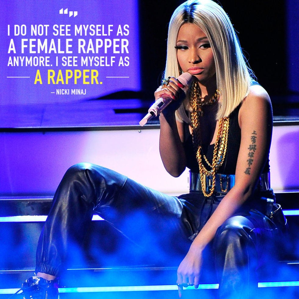 Warriors Come Out To Play Rap Song: Nicki Minaj Quotes About Success. QuotesGram