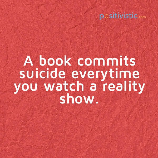 Nice Quotes On Reality: Reality Show Funny Quotes. QuotesGram