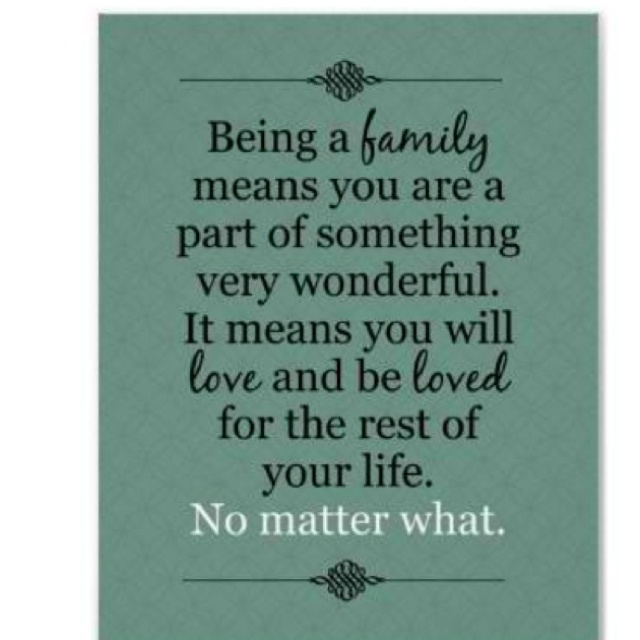Meaning Of Family Quotes: Family Is Not Always Blood Quotes. QuotesGram