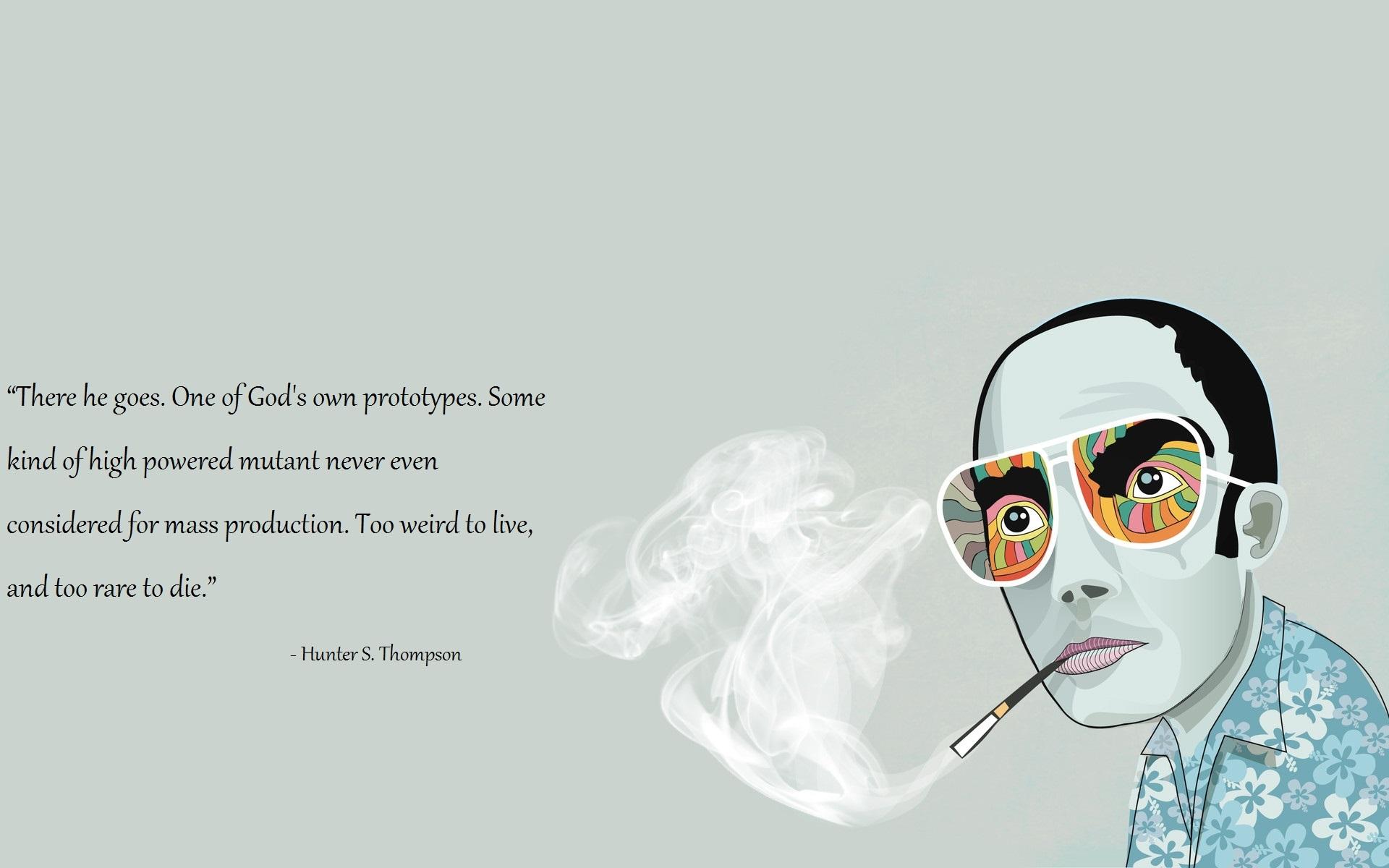 Hd wallpaper john abraham - Hunter S Thompson Quotes Wallpaper Quotesgram
