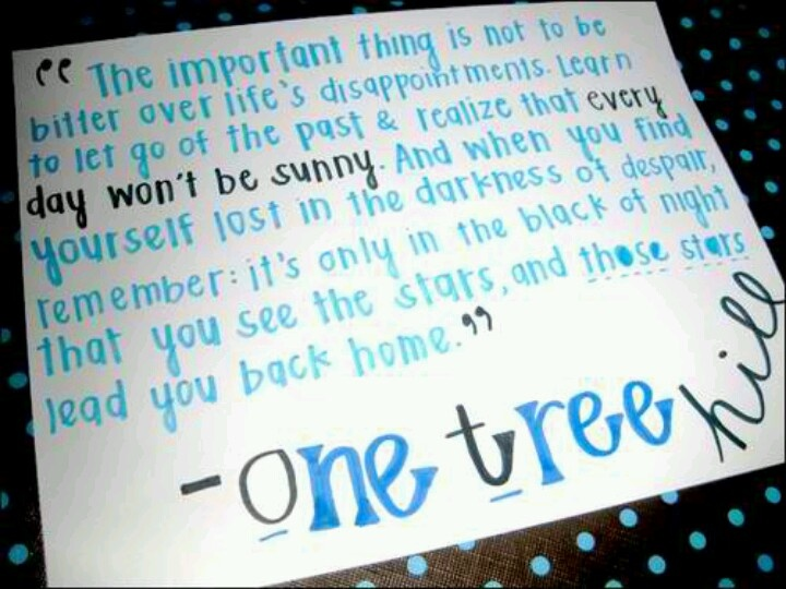 Popular One Tree Hill Quotes Quotesgram