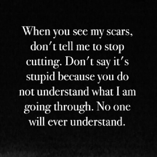 Emo Quotes About Suicide: Scars From Cutting Quotes. QuotesGram