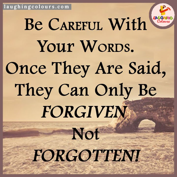 Be Careful With Your Words Quotes. QuotesGram