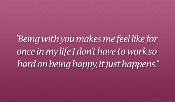 u know how to make me smile quotes
