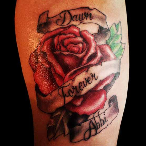 Tattoo Quotes With Roses: Rose Tattoos With Quotes. QuotesGram