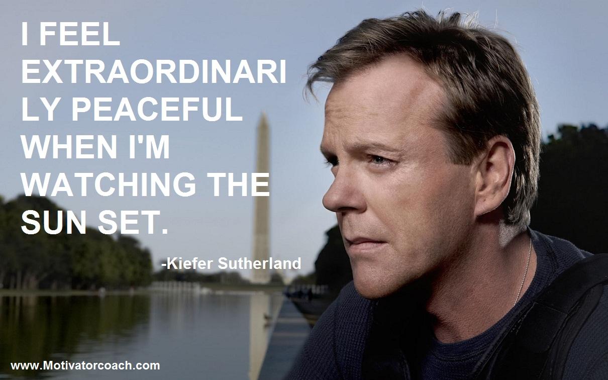 Kiefer Sutherland Quotes  Quotesgram
