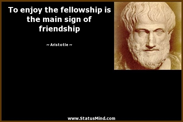 Aristotle essay on friendship
