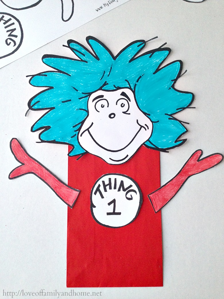 Dr Seuss Thing 1 And Thing 2 Quotes Quotesgram