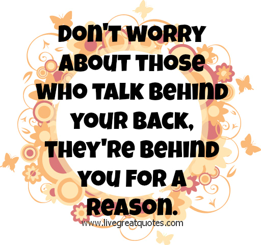 Quotes About Talking To People: Your Back Quotes On Facebook. QuotesGram