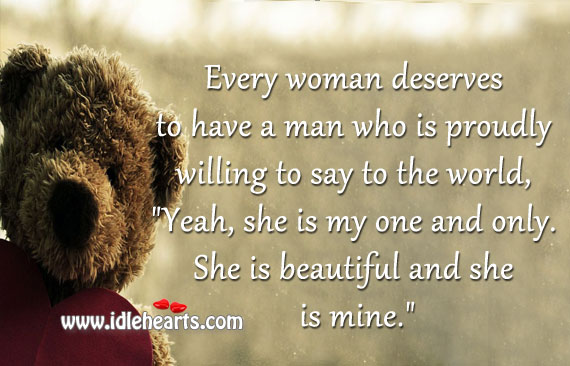 What A Woman Deserves Quotes. QuotesGram