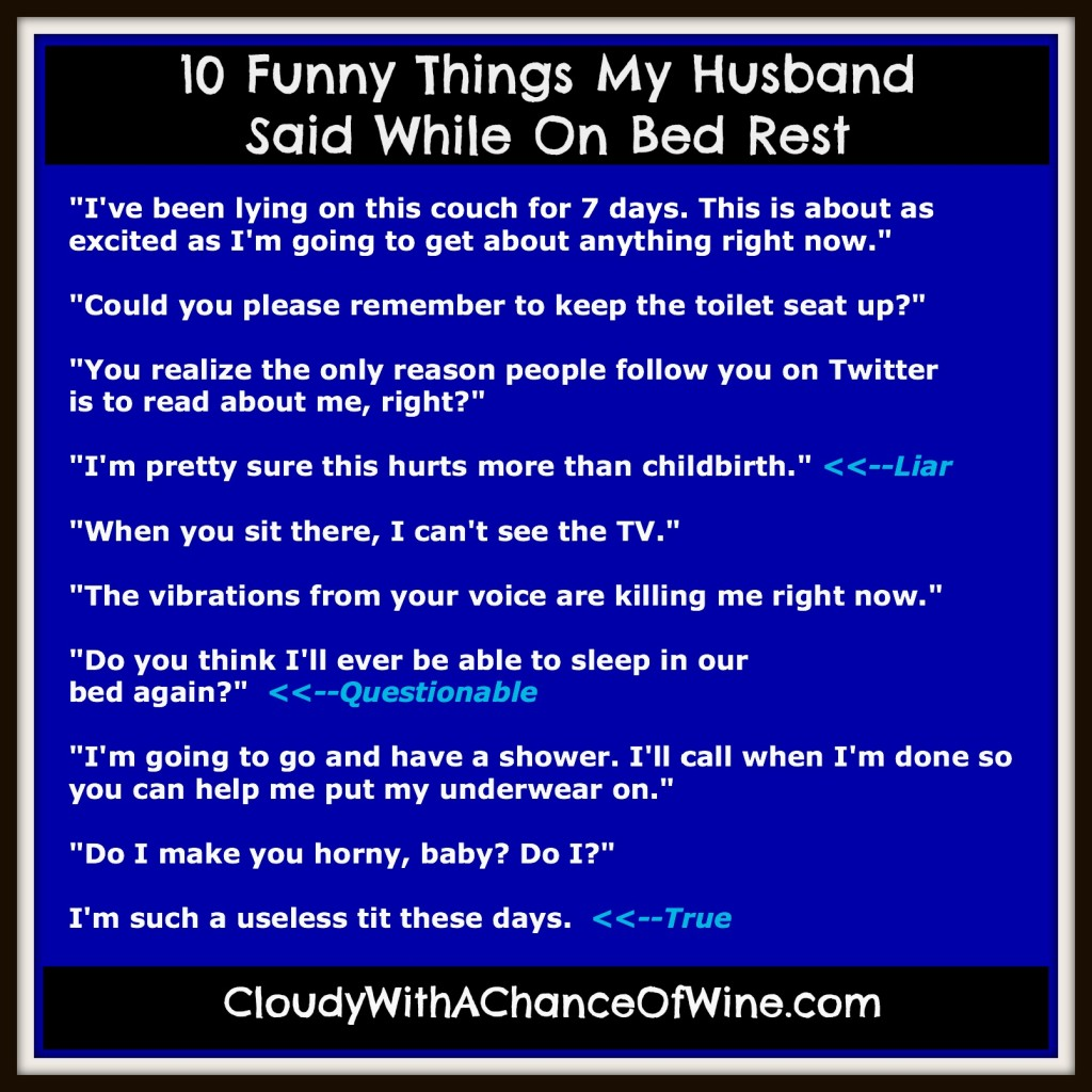 To bed things in do husband with How to