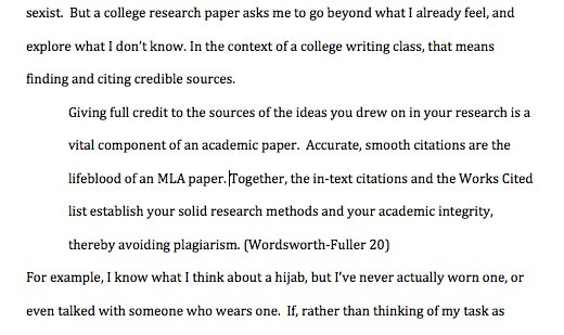 High school english research paper outline