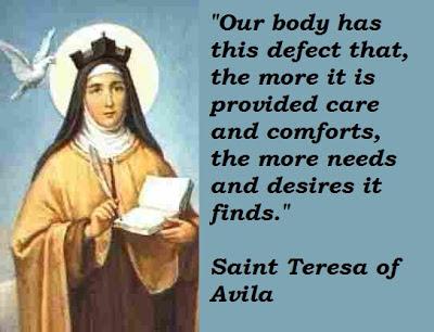 St Teresa Of Avila Interior Castle Quotes Quotesgram