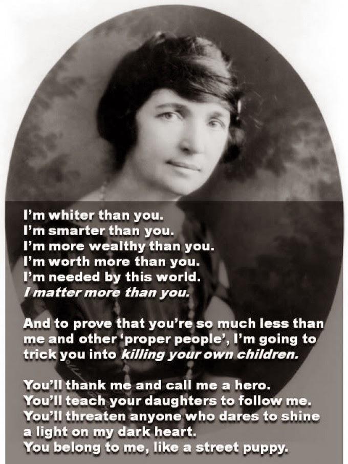Margaret Sanger Racist Quotes Quotesgram