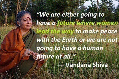 Vandana Shiva Quotes. QuotesGram