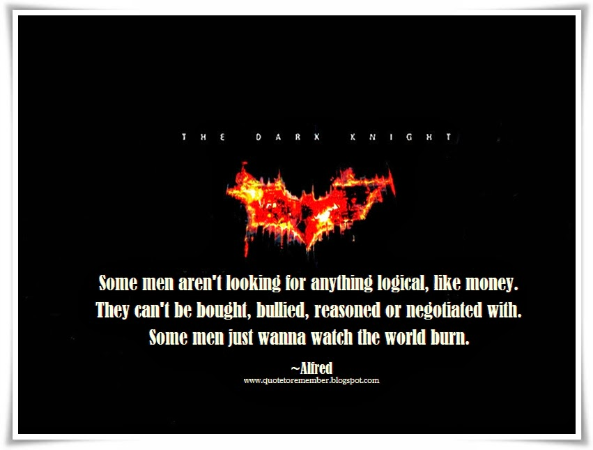 The Dark Knight Quotes: The Dark Knight Alfred Quotes. QuotesGram