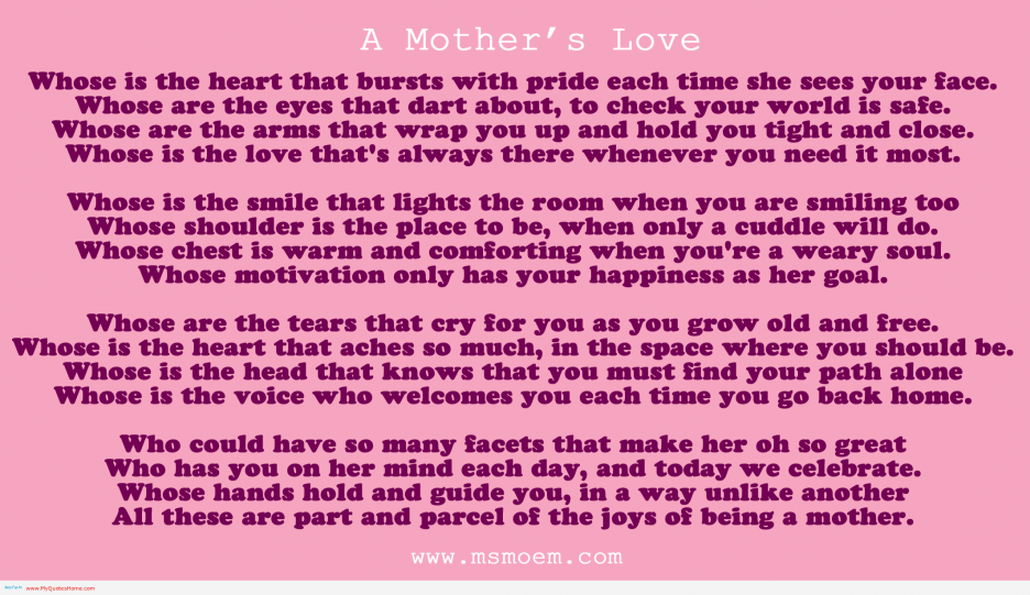Mother From Daughter Birthday Quotes Quotesgram
