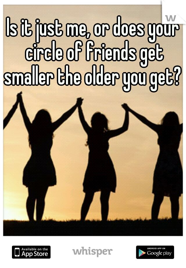 Of friends quotes small circle 42 Small