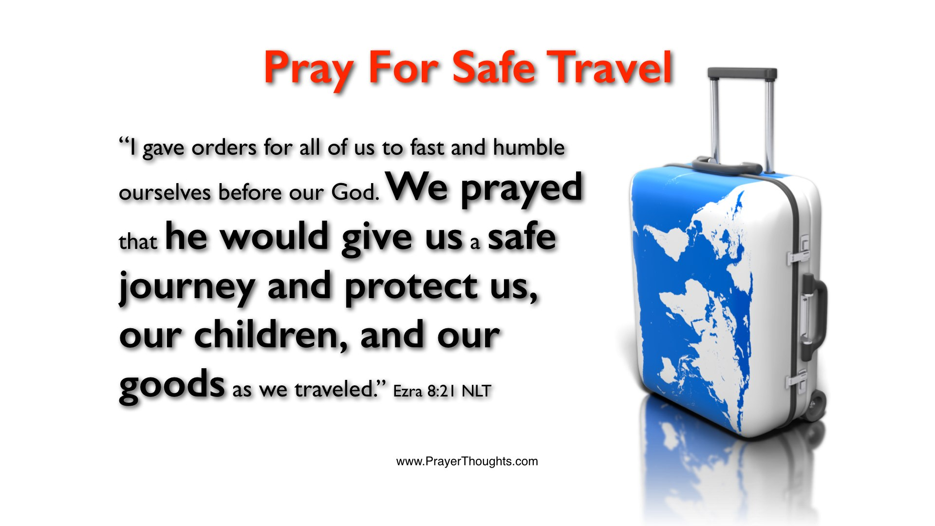 Safe Travel Quotes Bible