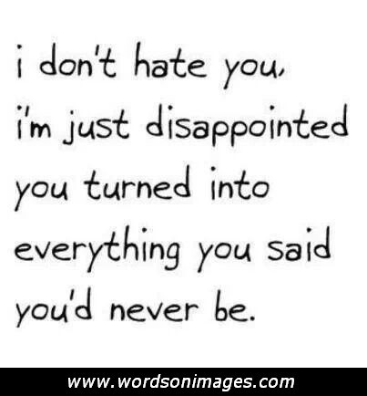 Disappointed Friendship Quotes. QuotesGram