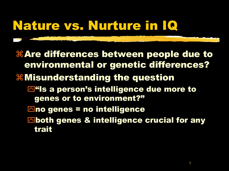 nature vs nurture puddnhead wilson essay