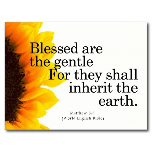 Christian Quotes On Gentleness Quotesgram