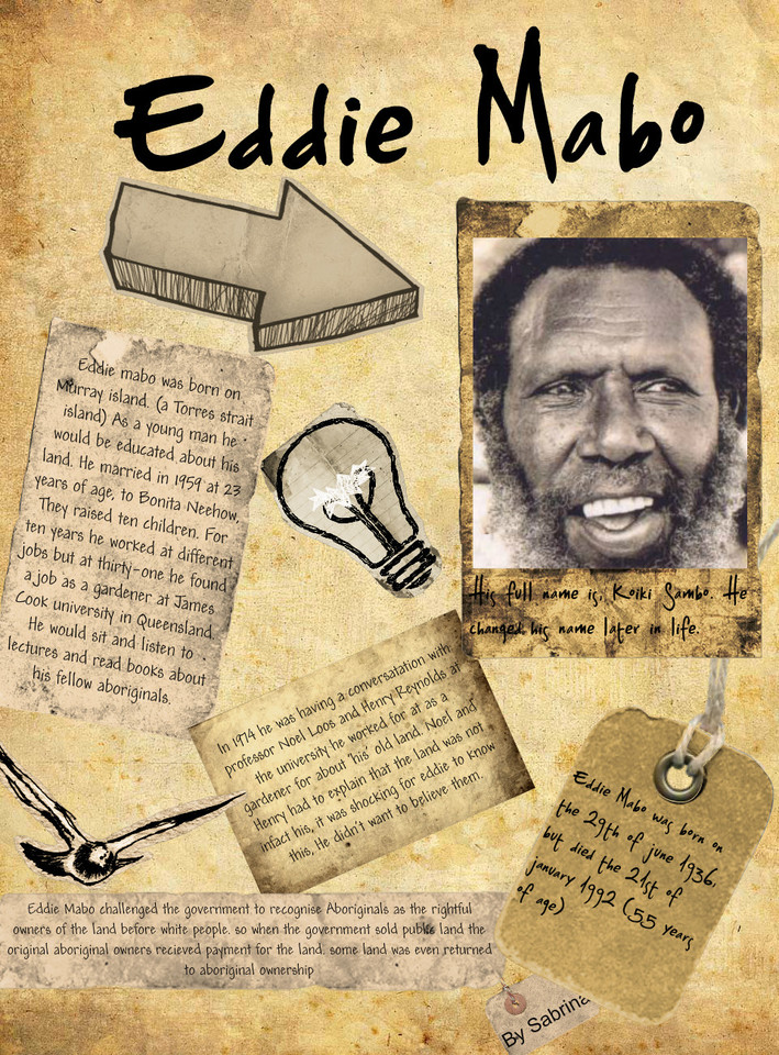 Indigenous Eddie Mabo commemorated on Google Doodle for his 80th birthday