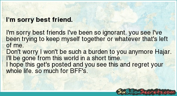 Best Friend Apology Quotes. QuotesGram