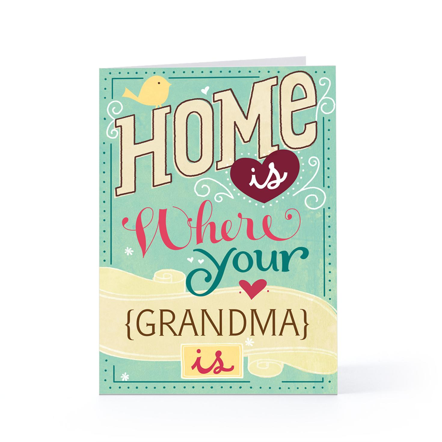 Birthday Cards For Grandma Printable ~ Hallmark birthday quotes for mom quotesgram