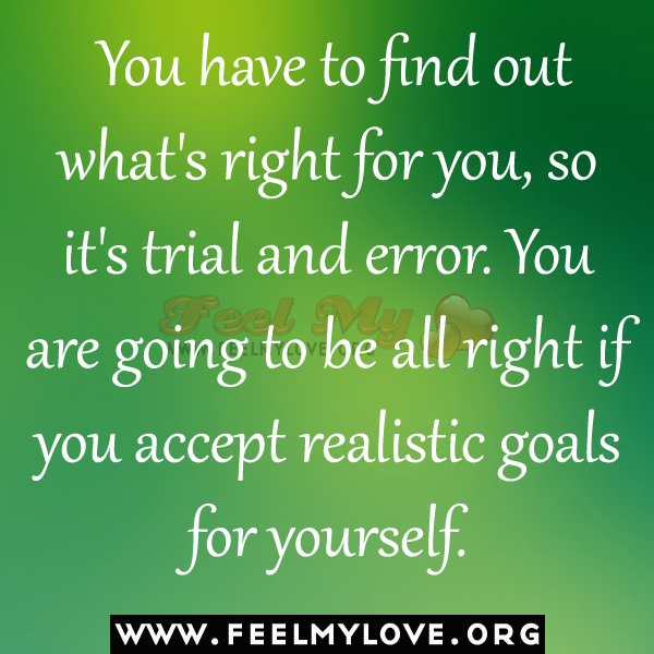 Quotes About Love: Trial And Error Quotes. QuotesGram