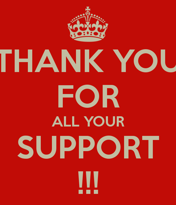Quotes About Thank You For Support: Thanks For Your Support Quotes. QuotesGram