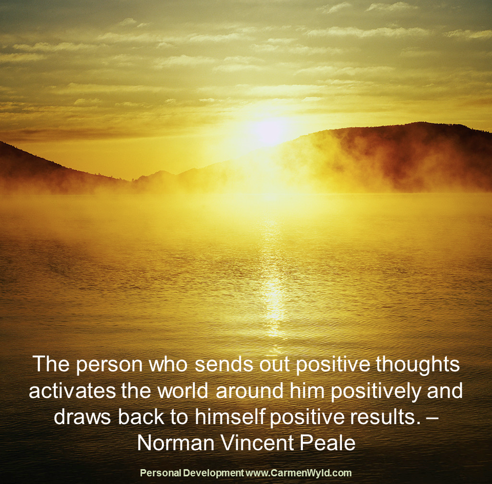 Have Positive Thoughts Quotes: Power Of Positive Thinking Quotes. QuotesGram