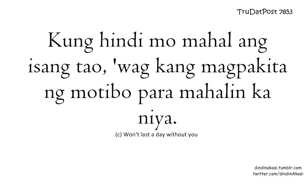 Sad Love Quotes For Him Tagalog Twitter : Sad Tagalog Quotes Twitter. QuotesGram