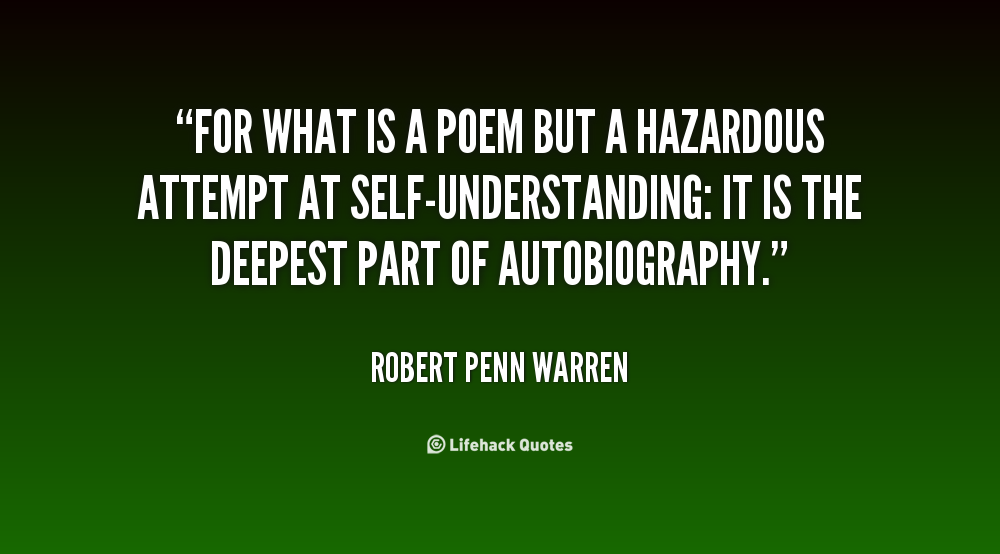 80 QUOTES BY ROBERT PENN WARREN [PAGE - 2] | A-Z Quotes